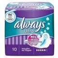 Always - Ultra Long Plus με φτερά 10τμχ
