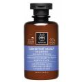 Apivita Holistic Hair Care Σαμπουάν για Ευαίσθητο Τριχωτό με Λεβάντα & Μέλι 250ml