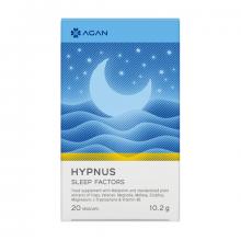 Agan Hypnus Sleep Factors Συμπλήρωμα για Ξεκούραστο Ήρεμο και Αναζωογονητικό Ύπνο 20vegicaps