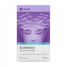 Agan Samcos Eusensia Calm Factors Συμπλήρωμα Κατά του Άγχους της Έντασης και της Νευρικότητας 10vegicaps