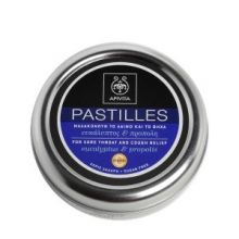 APIVITA - PASTILLES Παστίλιες για τον πονεμένο λαιμό και το βήχα με ευκάλυπτο & πρόπολη 45g