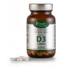 Power Health - Classics Platinum Range Vitamin D3 1.000 iu