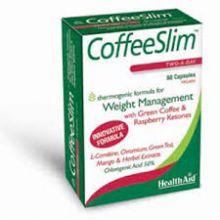 HealthAid Coffee Slim Με Πράσινο Καφέ 60caps