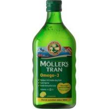 Mollers Cod Liver Oil Μουρουνέλαιο με γεύση λεμόνι 250ml