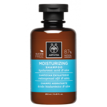Apivita Holistic Hair Care Σαμπουάν Ενυδάτωσης με Αλόη & Υαλουρονικό Οξύ 250ml