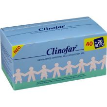 Clinofar Αμπούλες με Φυσιολογικό Ορό 5ml 40+20 Δώρο