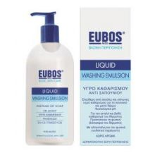 Eubos Liquid Blue Υγρό καθαρισμού, για τον καθημερινό καθαρισμό και την περιποίηση προσώπου και σώματος 400ml