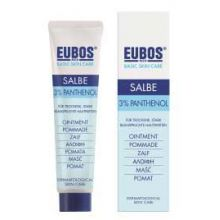 Eubos Salbe 3% Panthenol Εντατική φροντίδα περιποίησης για το ευαίσθητο και τεντωμένο δέρμα 75ml