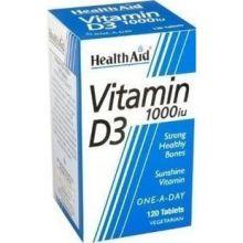 Health Aid Vitamin D3 Συμπλήρωμα Διατροφής 120tabs