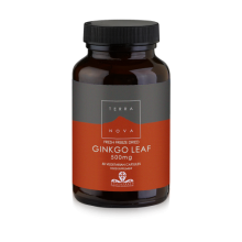Terranova Ginkgo Leaf 500mg Ginkgo Biloba στη φυσική του μορφή για Δυνατή Μνήμη 50caps