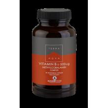 Terranova Vitamin Β12 500mg Complex Μοναδική σύνθεση Βιταμίνης Β12 50caps