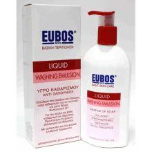 Eubos Red Liquid Υγρό Καθημερινού Καθαρισμού Προσώπου και Σώματος 400ml