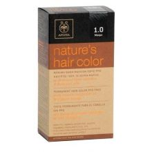 Apivita - Natures Hair Color Βαφές μαλλιών με μέλι & ηλίανθο (Μαύρο κ.α.)